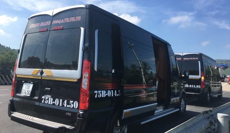 Review 4 nhà xe limousine Đà Nẵng Huế chất lượng nhất nên đặt vé sớm