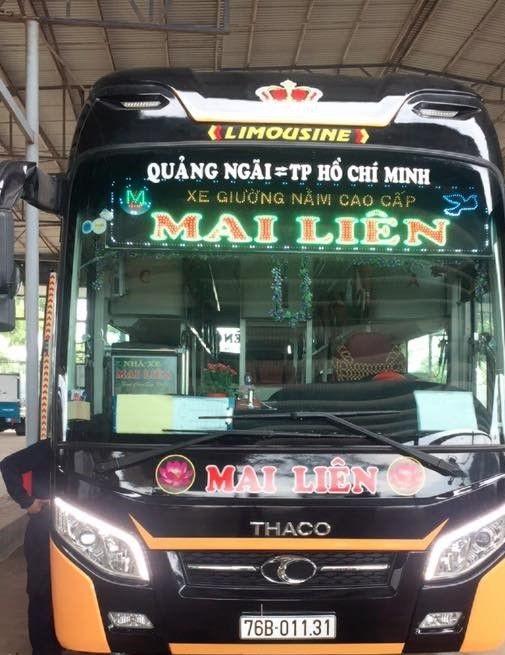 Top 5 nhà xe limousine Sài Gòn Quảng Ngãi giá rẻ chất lượng cao uy tín nhất