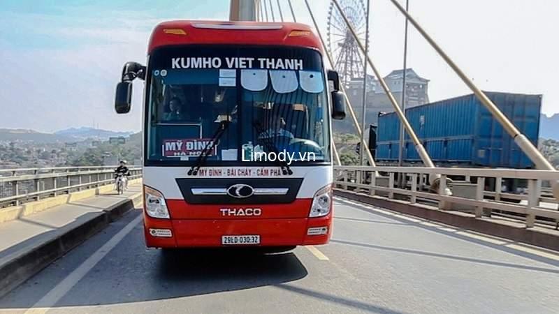 Nhà xe Kumho Việt Thanh: Bến xe, lịch trình, giá vé, số hotline đặt vé