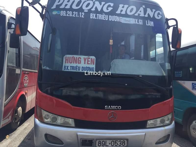 Top 6 nhà xe đi Hưng Yên: Đặt vé xe khách giường nằm, limousine VIP