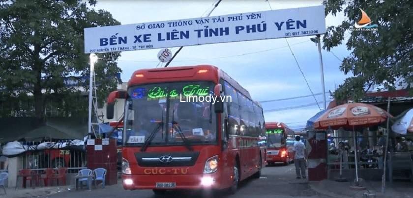 Xe Cúc Tư: Bến xe, lịch trình, giá vé, số điện thoại đặt vé đi Phú Yên