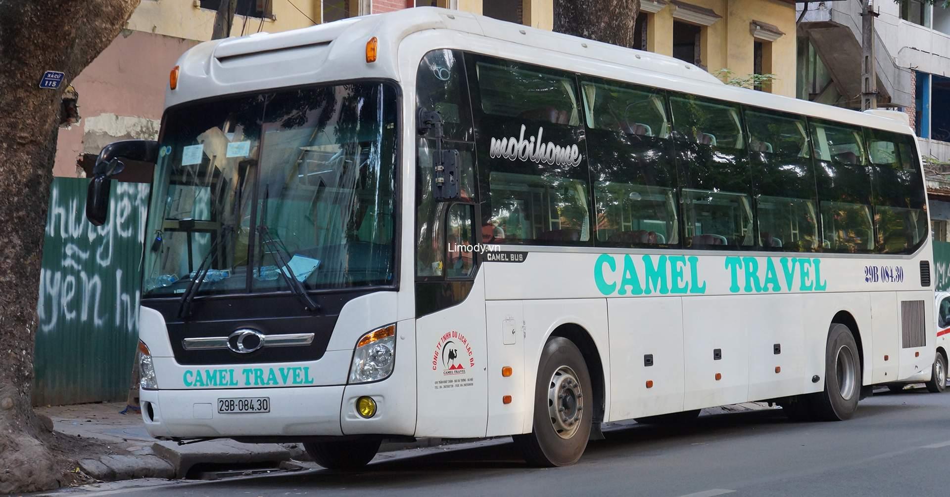 Xe Camel travel: Bến xe, giá vé, số điện thoại đặt vé, lịch trình A-Z
