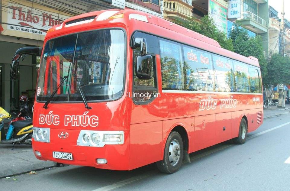 Xe Đức Phúc: Bến xe, giá vé, số điện thoại đặt vé, lịch trình đi Quảng Ninh