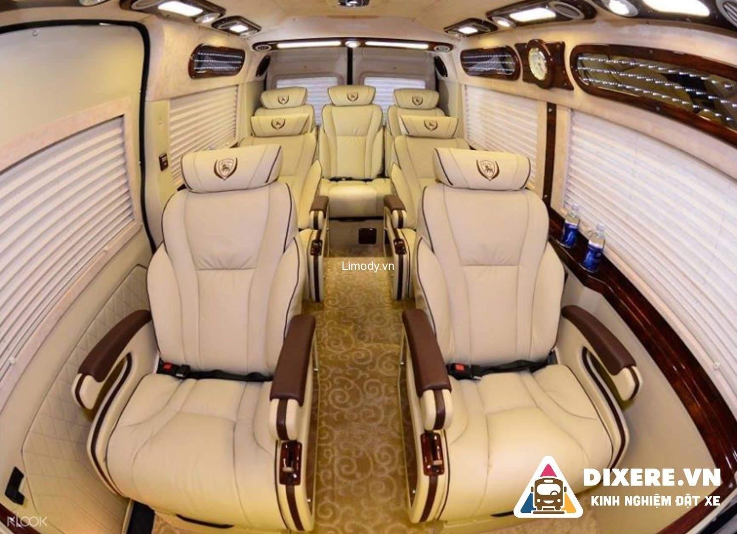 Đặt vé xe limousine Vip Sài Gòn đi Đà Lạt chất lượng cao, giá rẻ