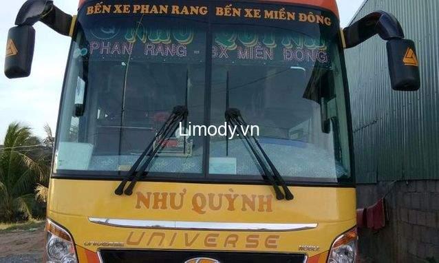 Xe Như Quỳnh: Bến xe, giá vé, điện thoại đặt vé, lịch trình đi Ninh Thuận