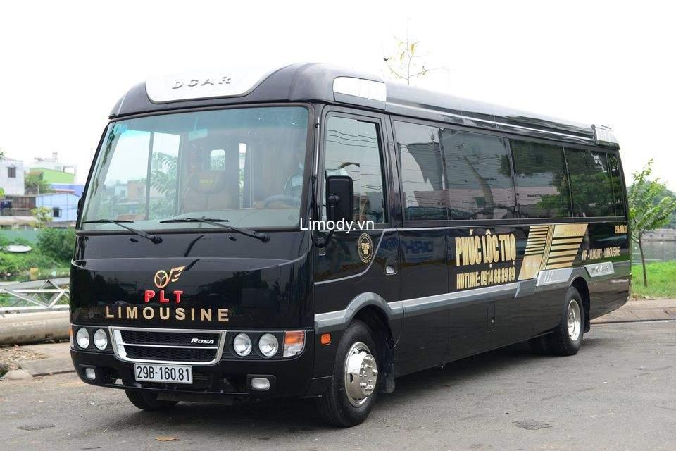 Xe Phúc Lộc Thọ limousine: Bến xe, giá vé, số điện thoại đặt vé, lịch trình