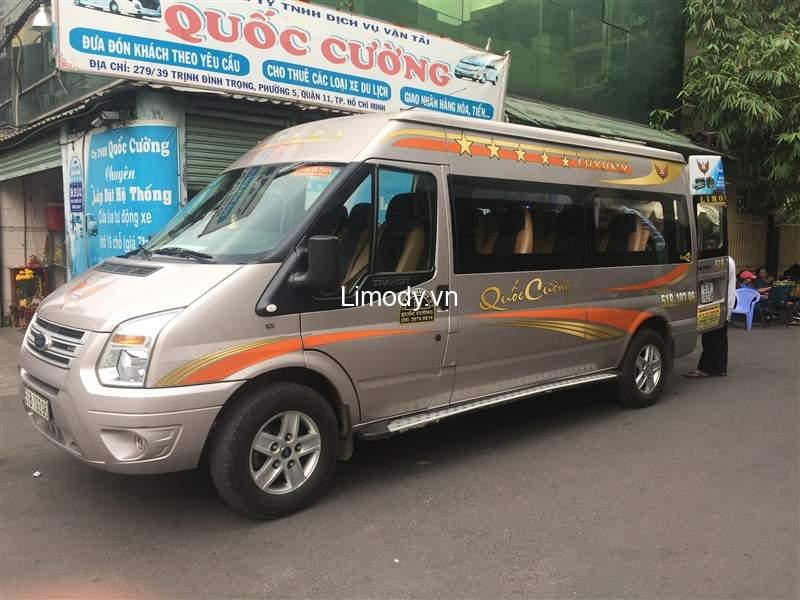 Xe Quốc Cường: Bến xe, giá vé, số điện thoại đặt vé, lịch trình đi Đồng Nai