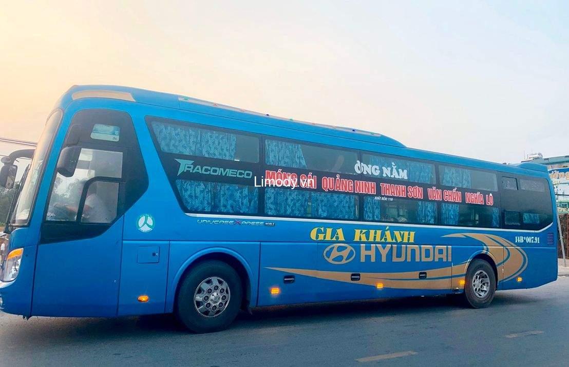 Top 9 nhà xe Quảng Ninh Phú Thọ Việt Trì: xe khách limousine giường nằm