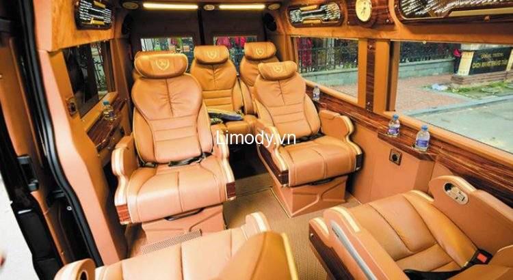 Top 4 Nhà xe Quảng Ninh Vĩnh Phúc Tam Đảo limousine, giường nằm