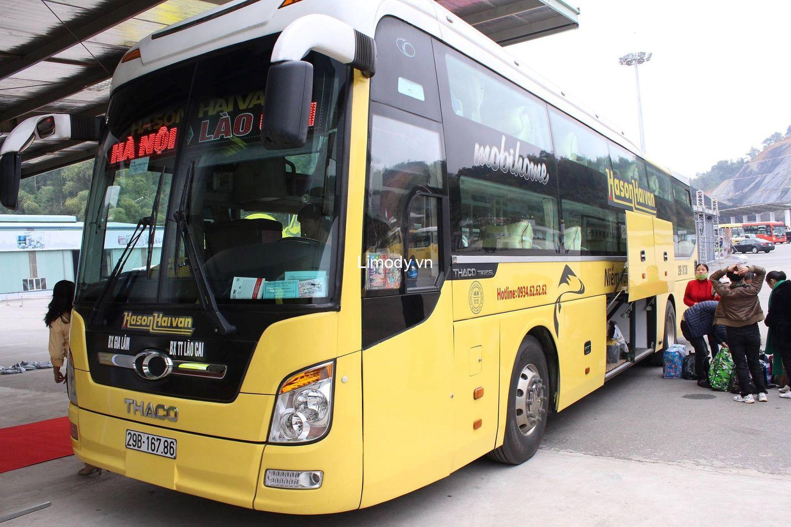 Top 9 Nhà xe Quảng Ninh Yên Bái limousine xe khách giường nằm