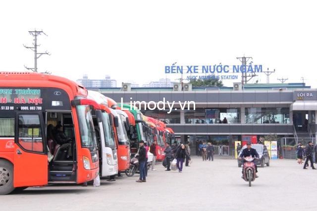 Bến xe Nước Ngầm: Lịch trình nhà xe đi các tỉnh miền Trung, miền Nam