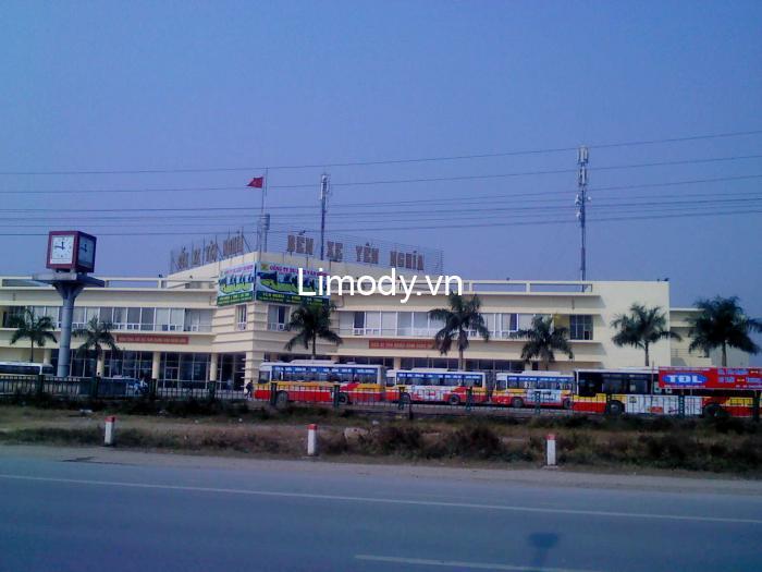 Bến xe Yên Nghĩa Hà Nội: Số điện thoại, lịch trình nhà xe đi các tỉnh