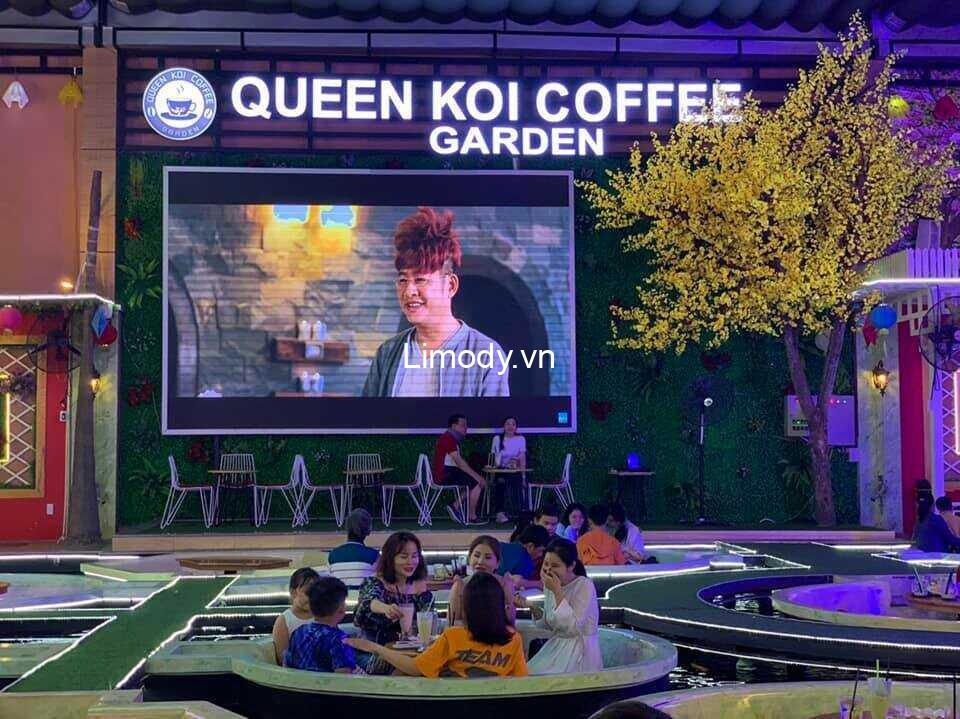 Top 10 Quán cafe cá koi view đẹp rộng khủng nhất Sài Gòn – TPHCM