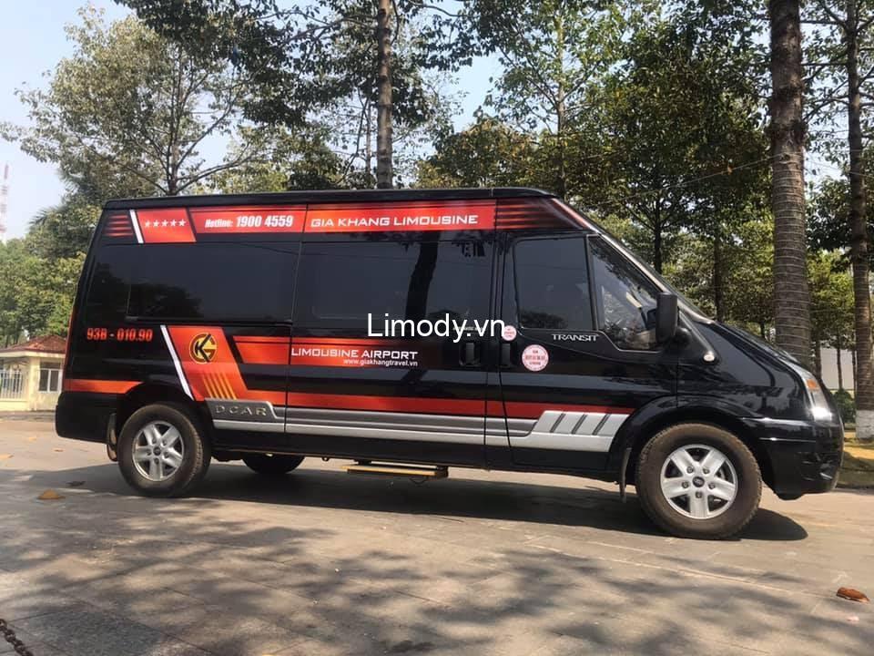 Xe Gia Khang limousine: Bến xe, giá vé, số điện thoại đặt vé đi Bình Phước