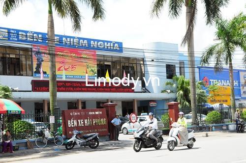 Bến xe Niệm Nghĩa Hải Phòng: Thông tin giá vé lịch trình các nhà xe
