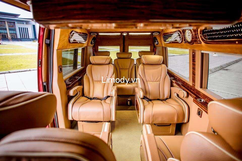 Xe Hoa Hướng Dương limousine: Bến xe, giá vé, số điện thoại đặt vé Bắc Giang