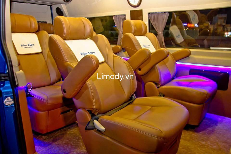 Xe Kim Liên limousine: Bến xe, giá vé, điện thoại đặt vé Đà Nẵng Quy Nhơn