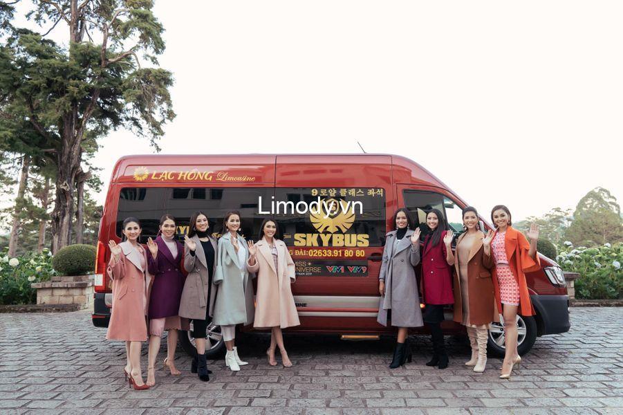 Xe Lạc Hồng limousine: Bến xe, giá vé, số điện thoại đặt vé, lịch trình Sài Gòn Đà Lạt