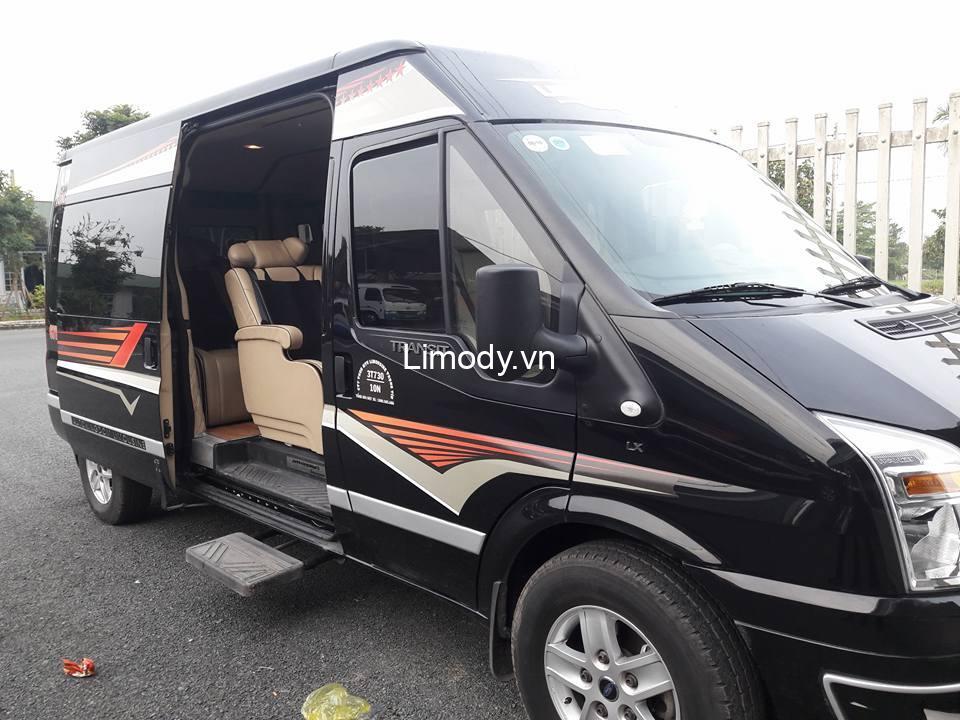 Xe limousine Trọng Tín: Bến xe, giá vé, số điện thoại đặt vé, lịch trình đi An Giang
