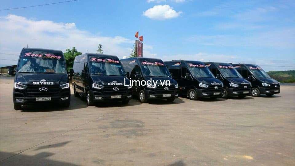 Xe Rạng Đông limousine: Bến xe, số điện thoại đặt vé Buôn Ma Thuột – Nha Trang
