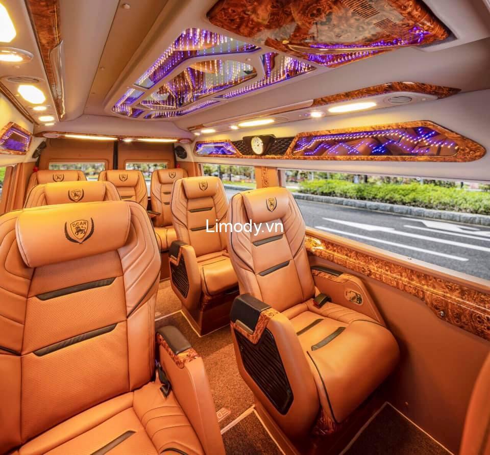 Xe Thái Dương limousine: Bến xe, giá vé, số điện thoại đặt vé, lịch trình Sài Gòn Đà Lạt