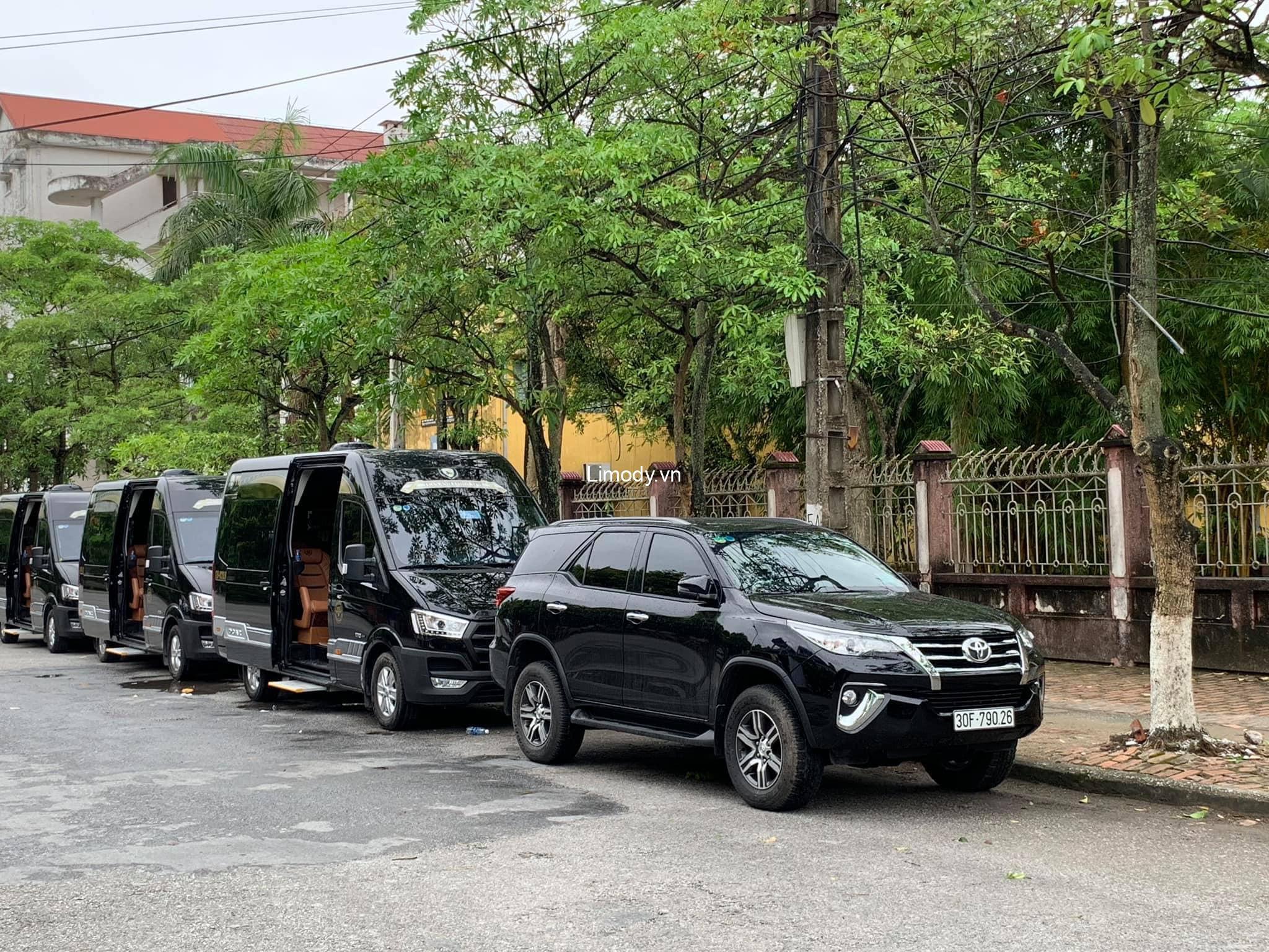 Xe Tuấn Anh limousine: Bến xe, giá vé, số điện thoại đặt vé, lịch trình Hà Nội – Thái Bình