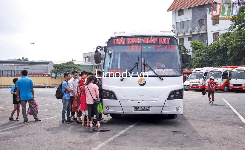 Bến xe Thái Bình: Hướng dẫn đường đi, điện thoại, lịch trình đi lại nhà xe