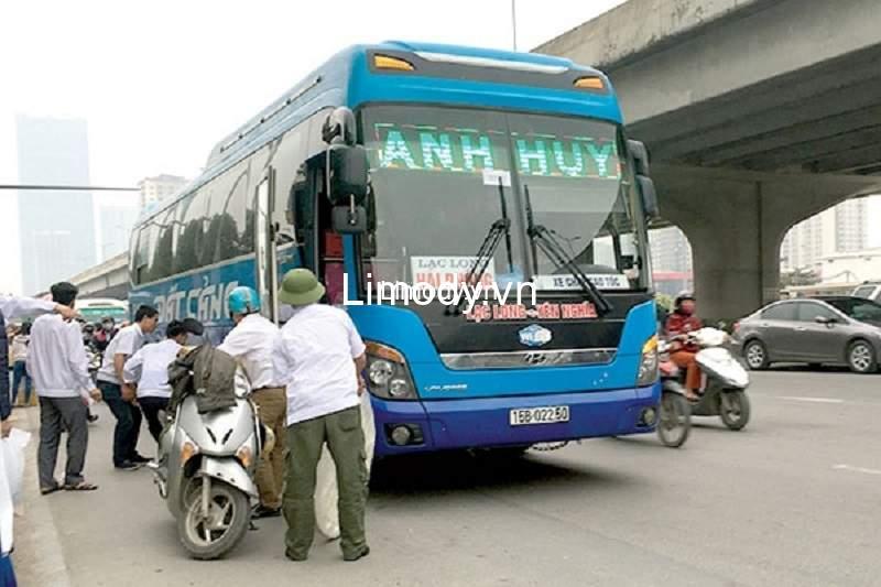 Top 26 Nhà xe khách Hà Nội Hải Phòng chạy cao tốc chất lượng cao