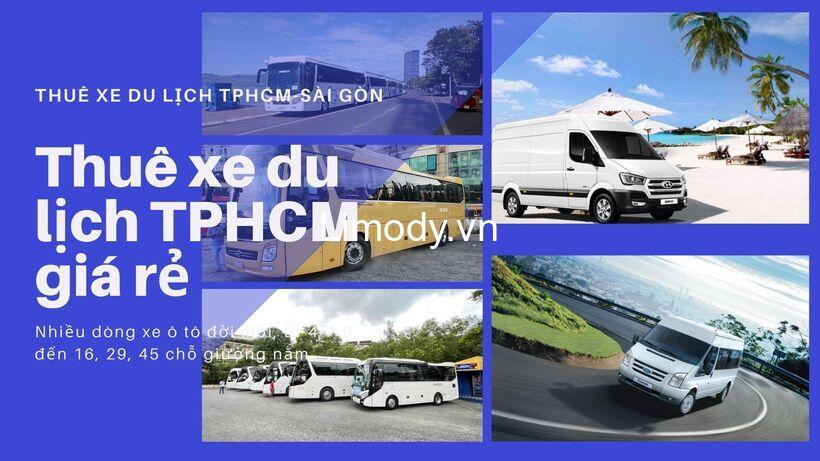 Top 20 Địa cho thuê xe du lịch TPHCM - Sài Gòn: bảng giá, thủ tục A-Z
