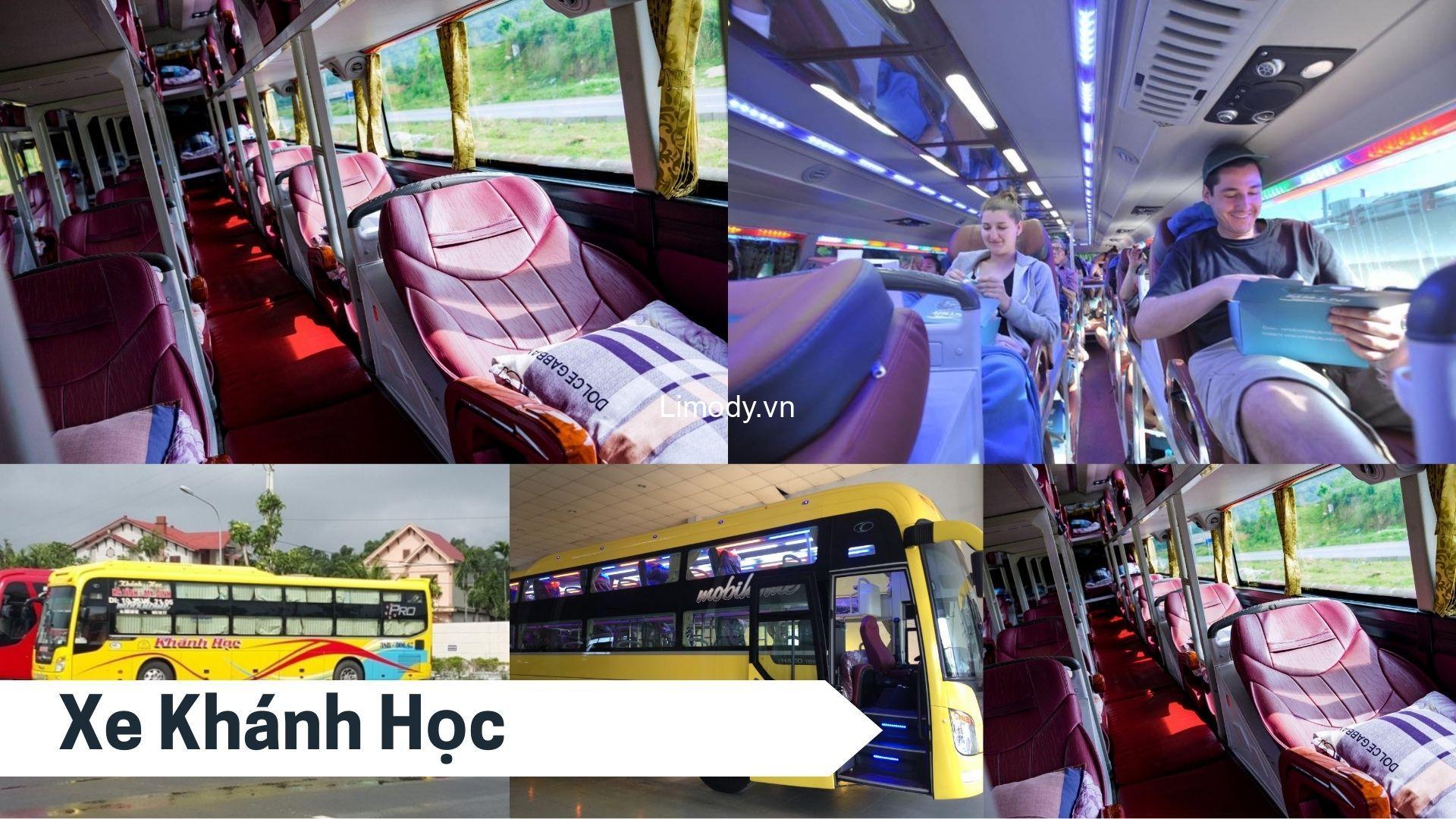 Xe Khánh Học: Bến xe, giá vé, số điện thoại đặt vé, lịch trình Hà Tĩnh – Hà Nội