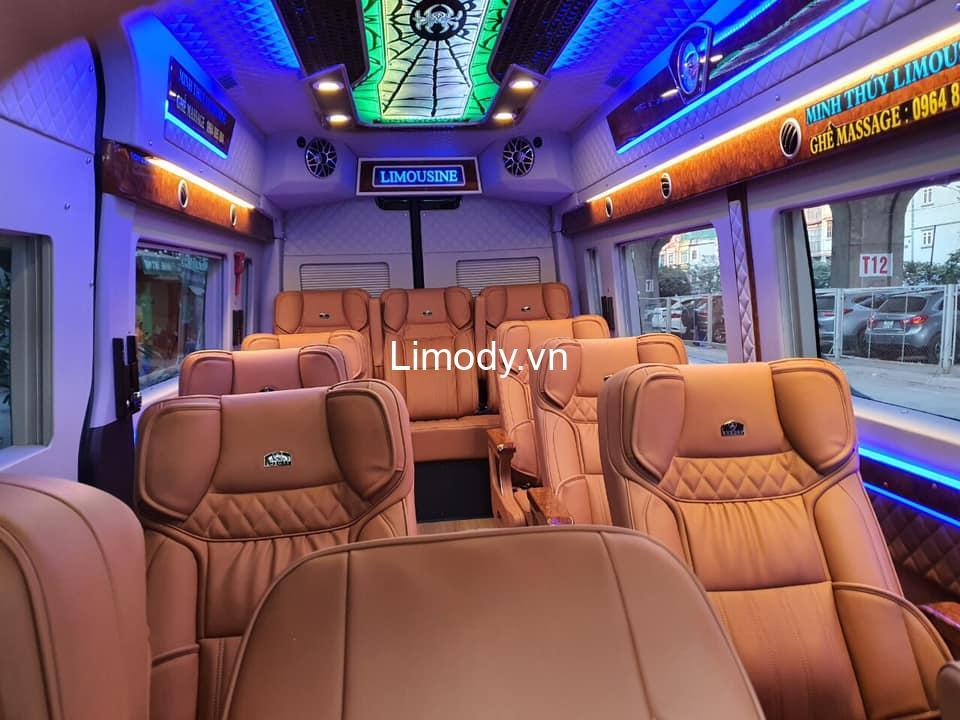Xe Minh Thúy limousine: Bến xe, giá vé, số điện thoại đặt vé Hà Nội Tam Đảo