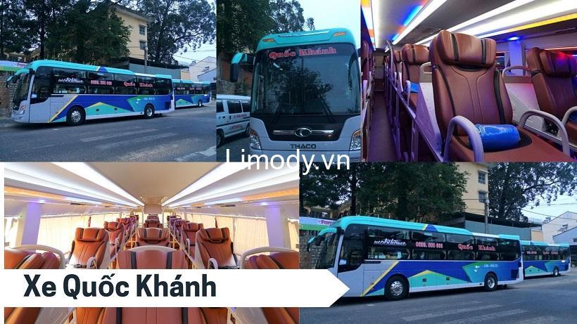 Xe Quốc Khánh: Bến xe, giá vé, số điện thoại đặt vé, lịch trình Đà Lạt – Quảng Trị