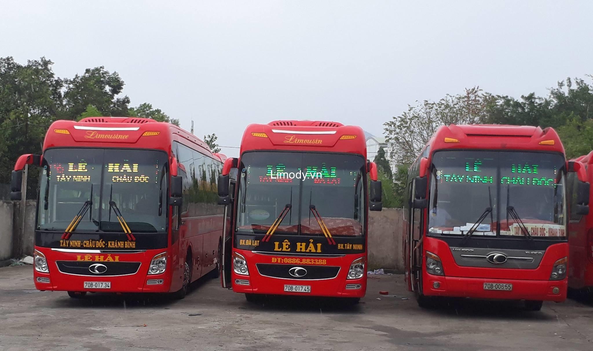 Top 2 Nhà xe Tây Ninh đi Đà Lạt chất lượng cao giá rẻ nên đặt vé