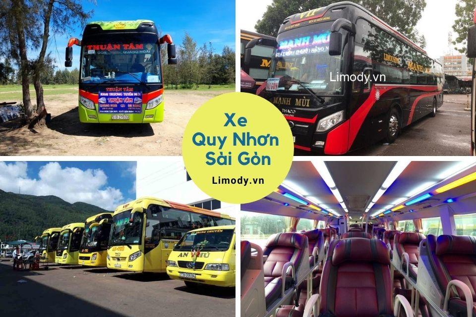 Top 21 Nhà xe Quy Nhơn Sài Gòn đi Bình Định limousine giường nằm
