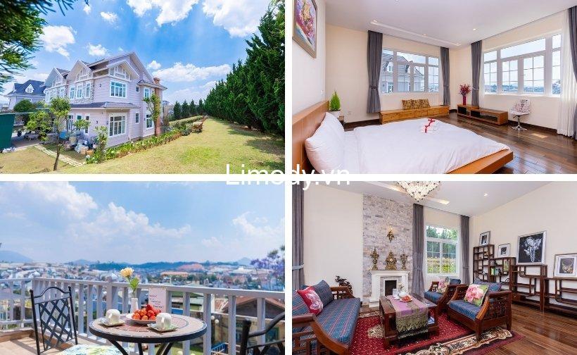 Top 30 Biệt thự villa Đà Lạt giá rẻ view đẹp cho thuê nguyên căn tốt nhất