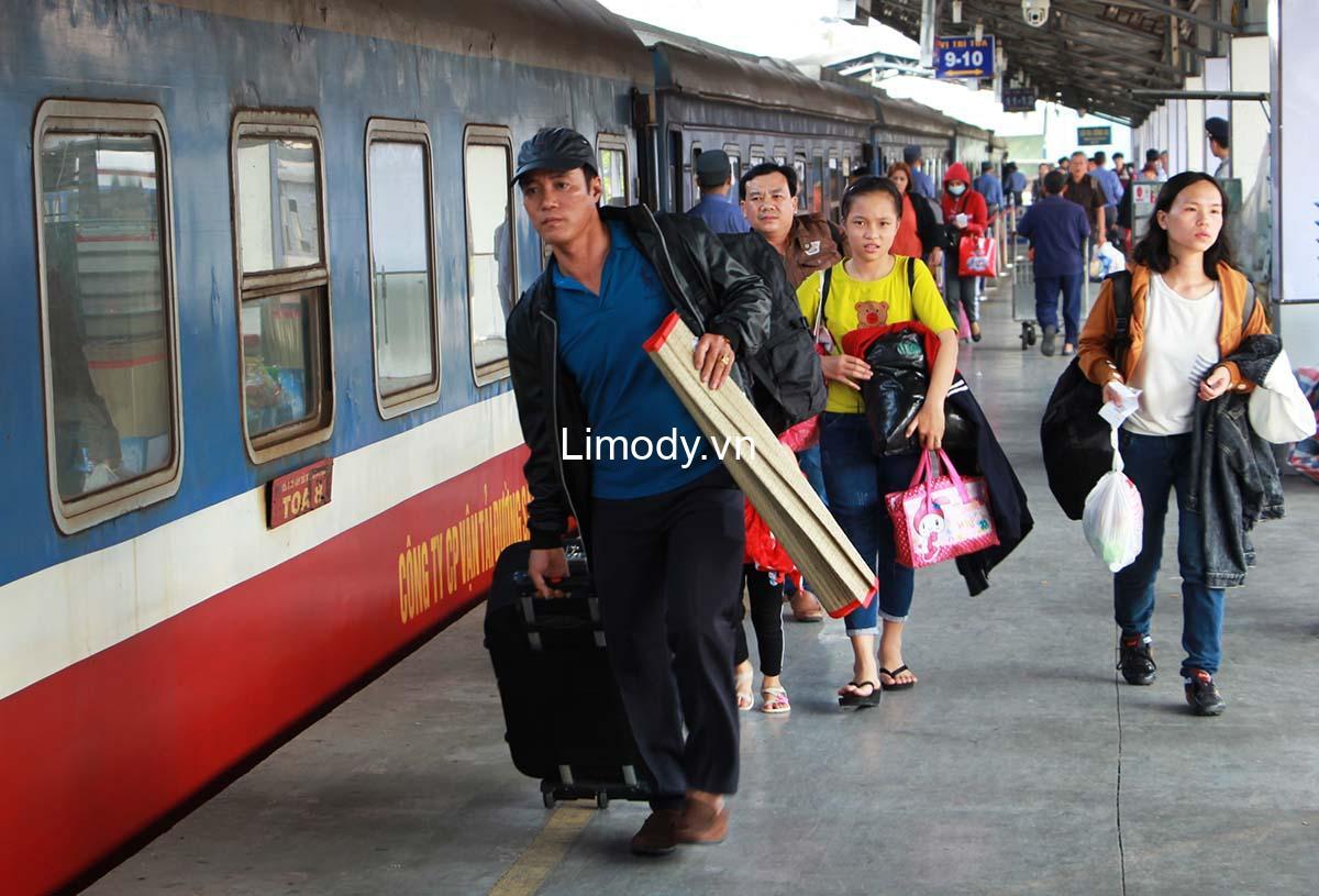 Vé tàu Hà Nội Sài Gòn TPHCM: Bảng giá chi tiết, cách liên hệ mua online