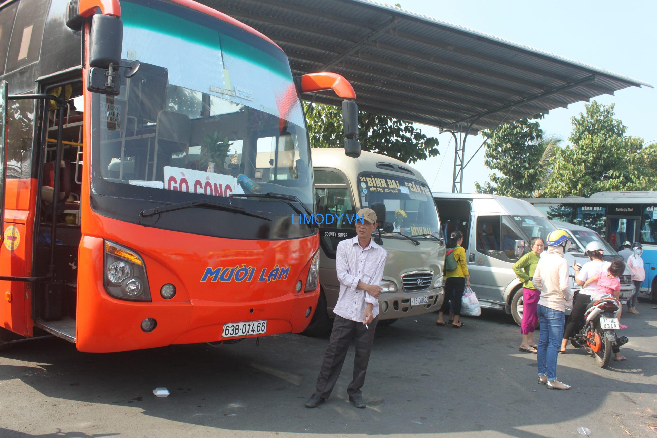 Bến xe Thạnh Phú ở đâu, danh sách xe khách tuyến tỉnh và cách thức liên hệ