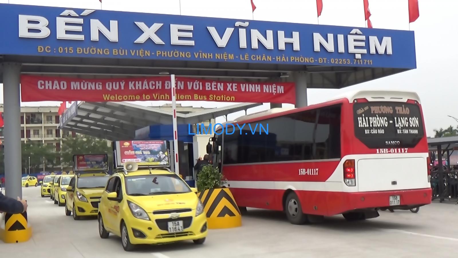 Bến xe Vĩnh Niệm: Danh sách các nhà xe xuất bến đi các tỉnh thành khác