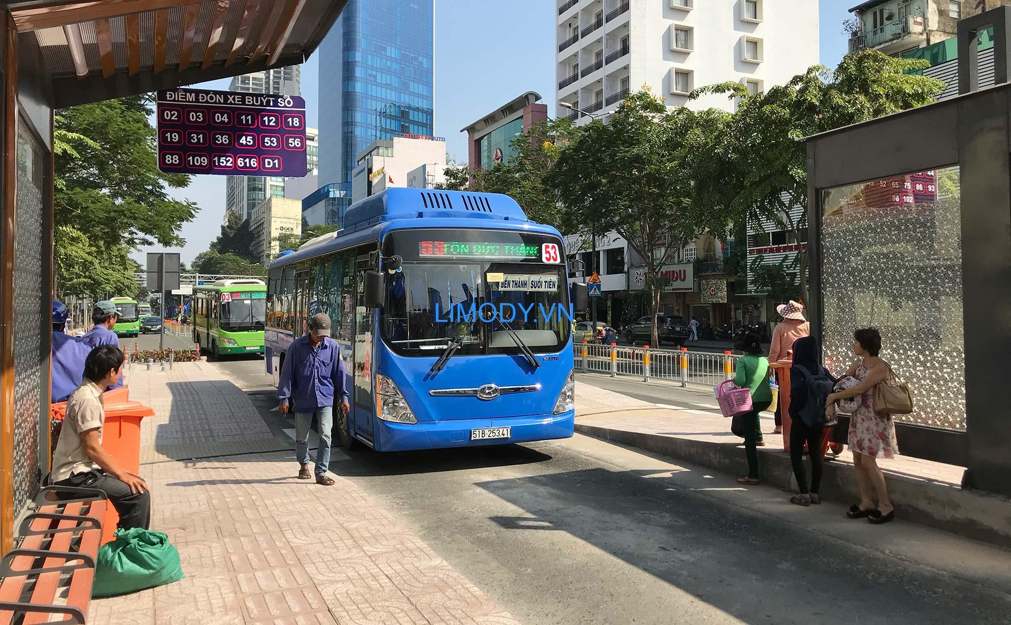Danh sách lộ trình các tuyến xe buýt TPHCM – xe bus TPHCM chi tiết